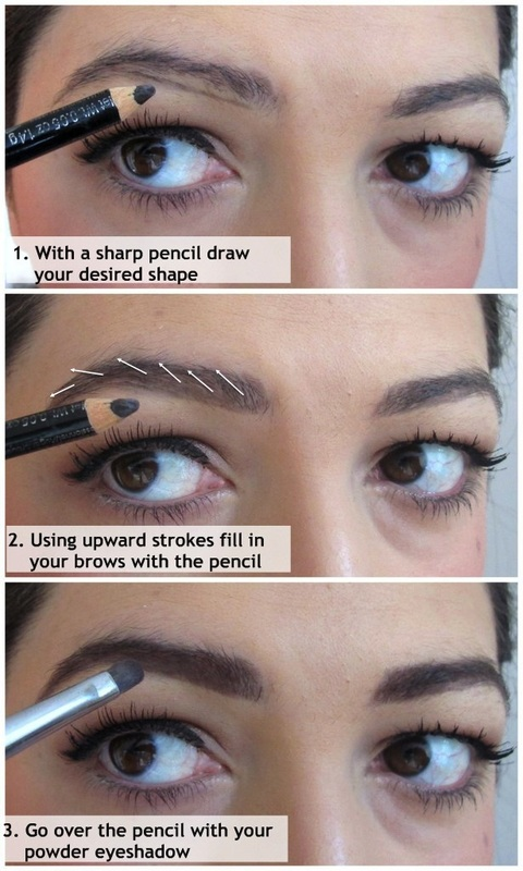 Filling In Your Eyebrows Behind The Smile